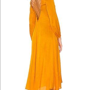 Free People Satin Weave Nectarine 🍑 Dress